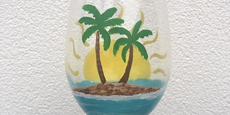 Paint Your Wine Glass - Beach Style! tickets