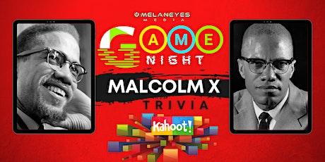Game Night: Malcolm X Trivia tickets