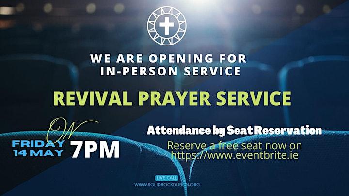 Friday: REVIVAL PRAYER SERVICE image