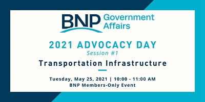Advocacy Day – Session 1:  Transportation Infrastructure
