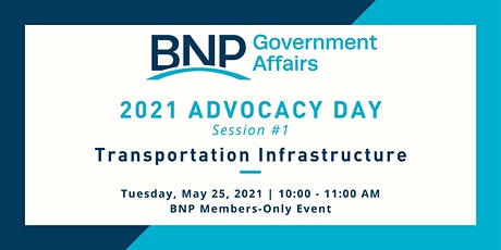 Advocacy Day - Session 1:  Transportation Infrastructure tickets