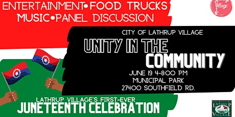 Unity in the Community: A Juneteenth Celebration tickets