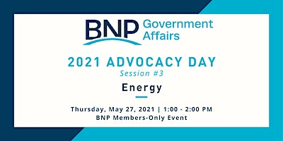 Advocacy Day: Session 3:  Energy: