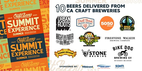 CA Craft Beer Summit Tasting Experience – Summer Session tickets