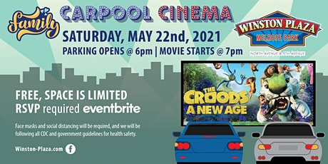Carpool Cinema  at Winston Plaza - The Croods A New Age tickets