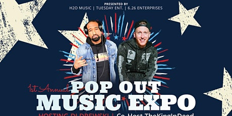 """"""" POP OUT MUSIC EXPO"""" tickets"""