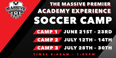 MASSIVE PREMIER ACADEMY CAMP EXPERIENCE tickets