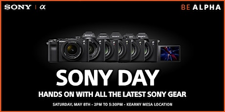 Sony Touch & Try Event tickets