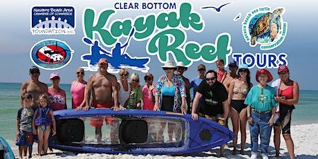 Clear Bottom Kayak Tours - June 5, 2021 entradas