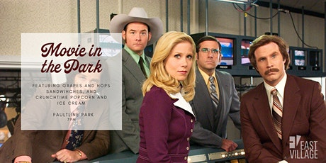 Movie in the Park- Anchorman: The Legend of Ron Burgundy tickets