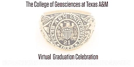 May 2021 College of Geosciences Virtual Graduation Celebration tickets