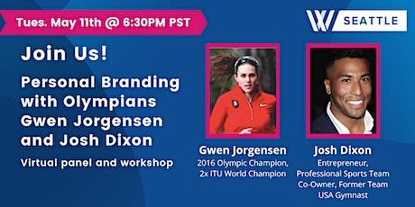 Personal Branding with Olympians Gwen Jorgensen & Josh Dixon Tickets