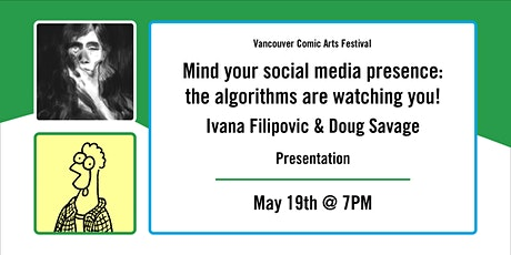 Mind your social media presence: the algorithms are watching you! tickets