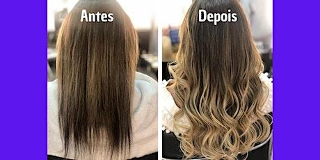 Curso de Mega Hair em Joinville ingressos