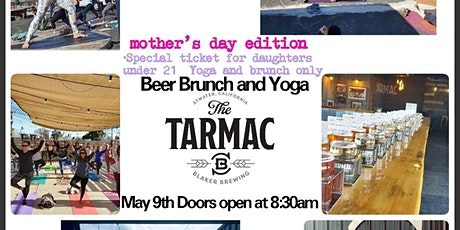 Brunch Beer & Yoga: Mother's Day Edition! tickets