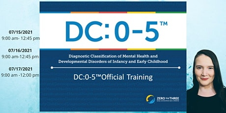 DC: 0-5 Diagnostic Classification of Mental Health and Developmental Disord tickets