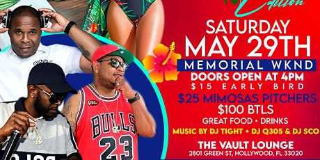 """"""" LUNCH & MUNCH """"  ( LUAU EDITION ) DAY PARTY SATURDAY MEMORIAL DAY WKND tickets"""