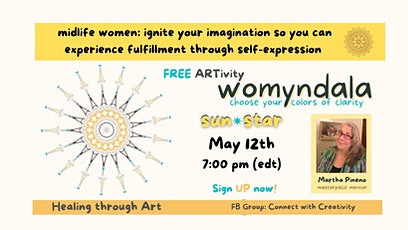Healing through Art: Womyndala - Sun Star tickets