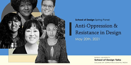 Anti-Oppression & Resistance in Design Panel tickets