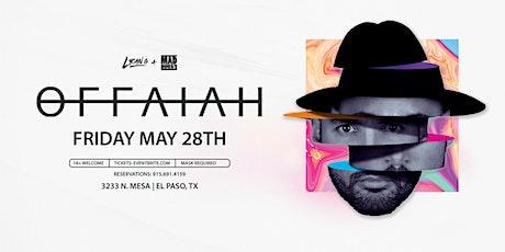 Offaiah // El Paso, Texas tickets
