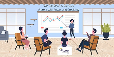 Wine & Webinar: Present with Power and Credibility tickets