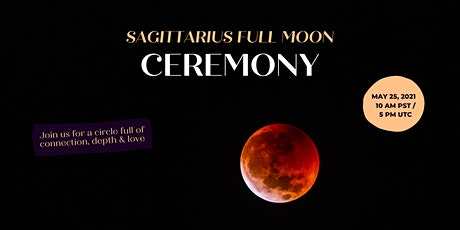Sagittarius Full Moon Ceremony - Lunar Eclipse Tickets