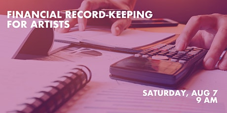 Financial Record-Keeping For Artists tickets