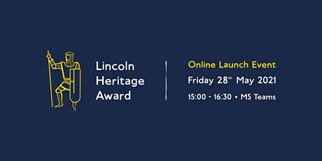 Lincoln Heritage Award Launch Event tickets