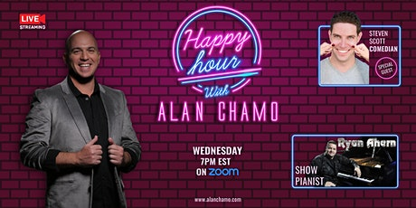 Happy Hour with Alan Chamo  | featuring Comedian Steven Scott tickets