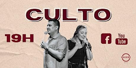 Culto BDN Pelotas Domingo 19H ingressos