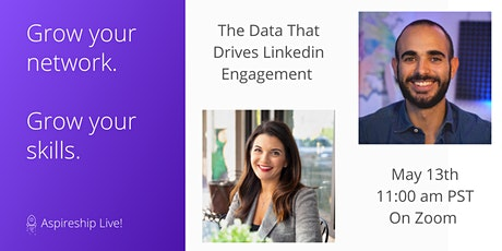 The Data That Drives LinkedIn Engagement -  with Filippo Piras tickets