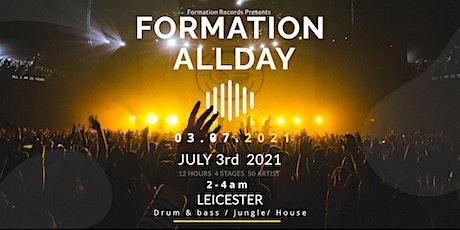 Formation Allday tickets
