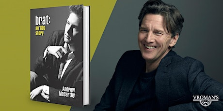 Vroman's Live presents Andrew McCarthy discussing Brat: An 80's Story tickets