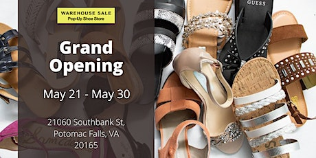 Warehouse Sale Pop-Up Shoe Store Grand Opening! Potomac Falls, VA tickets