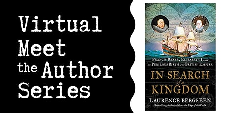 """Virtual Talk: """"In Search of a Kingdom"""" with Laurence Bergreen tickets"""