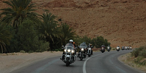 Twintour Morocco on Harley Davidson motorcycles