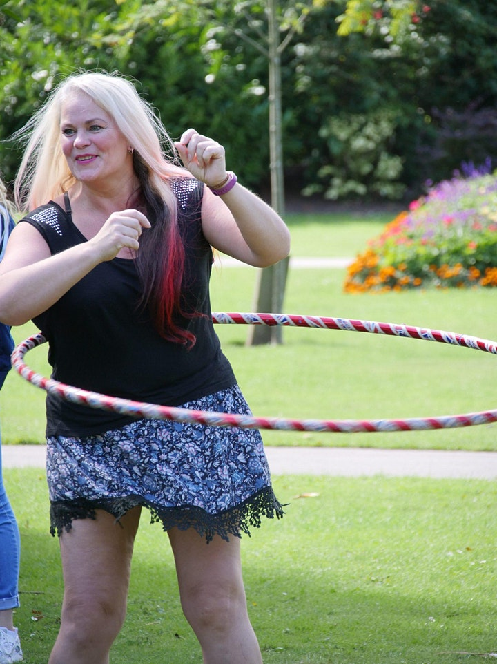 Hula Hooping Classes for Adults - Get HoopFit! image