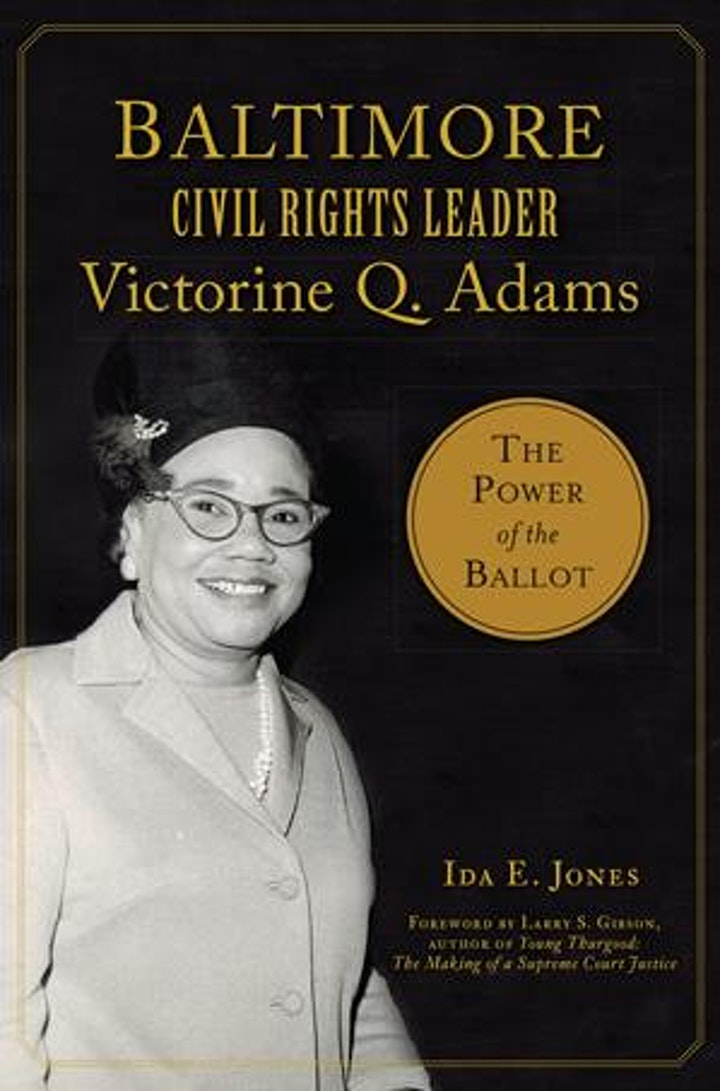 Baltimore Civil Rights Leader Victorine Q. Adams Presentation image