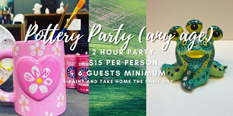 Pottery Party (Any age) tickets