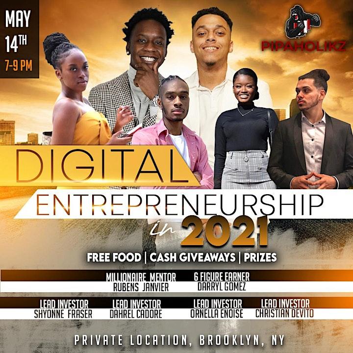 Brooklyn Riches-Digital Entrepreneurship 2021 image