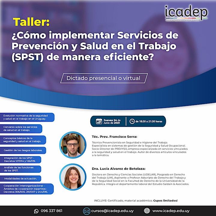 Imagen de Taller: ¿Cómo implementar Servicios de Prevención y Salud en el Trabajo?