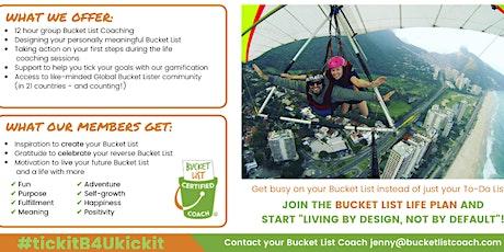 Bucket List LIFE PLAN - (ONLINE) tickets