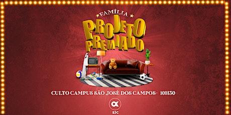 CULTO SÃO JOSÉ DOS CAMPOS 16/05 - 10H30 ingressos