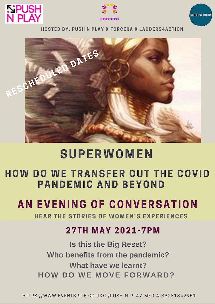Superwomen - How Do We Transfer Out the Covid Pandemic and Beyond image