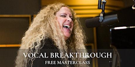 Vocal Breakthrough tickets