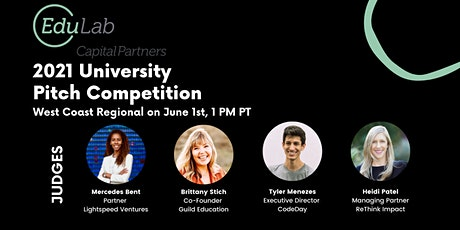 2021 University Pitch Competition - West Coast Regional - June 1st, 1 PM PT tickets