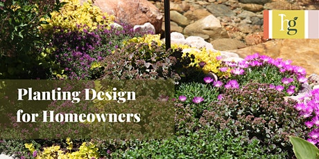 Planting Design for Homeowners tickets