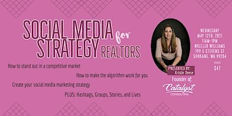 Social Media Marketing For Realtors tickets