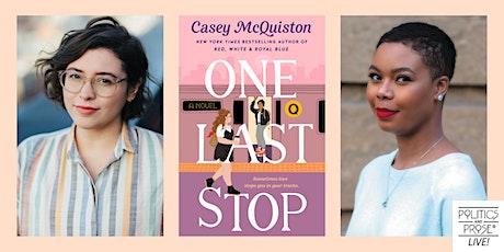 P&P Live! Casey McQuiston | ONE LAST STOP with Talia Hibbert tickets