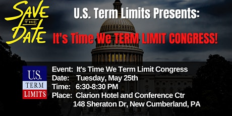It's Time We Term Limit Congress! tickets